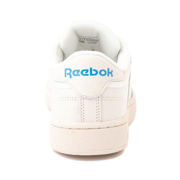 alternate view Mens Reebok Club C 85 Athletic Shoe - Chalk / CyanALT4