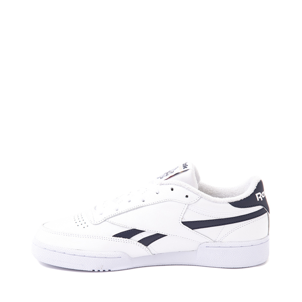 alternate view Mens Reebok Club C Revenge Athletic Shoe - White / NavyALT1