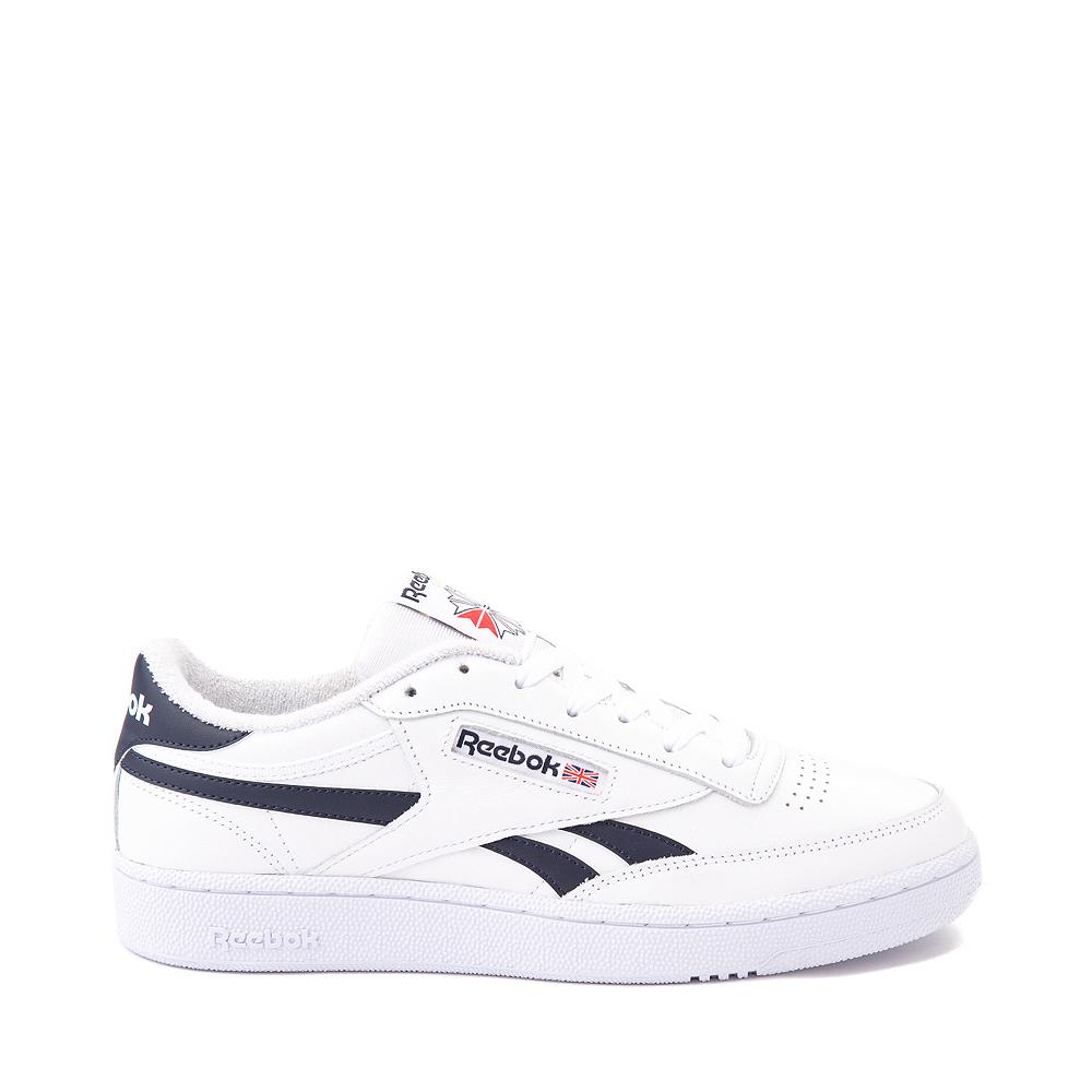 Mens Reebok Club C Revenge Athletic Shoe - White / Navy