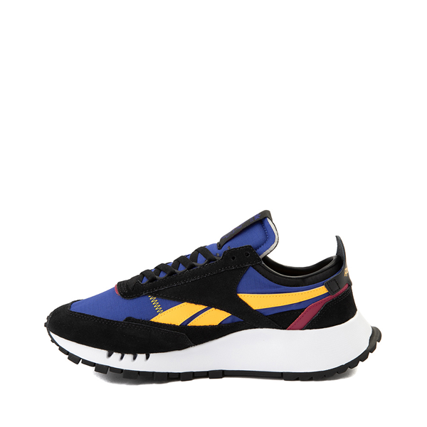 alternate view Mens Reebok Classic Legacy Athletic Shoe - Black / Collegiate Royal Blue / BerryALT1
