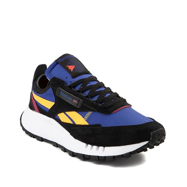 alternate view Mens Reebok Classic Legacy Athletic Shoe - Black / Collegiate Royal Blue / BerryALT5