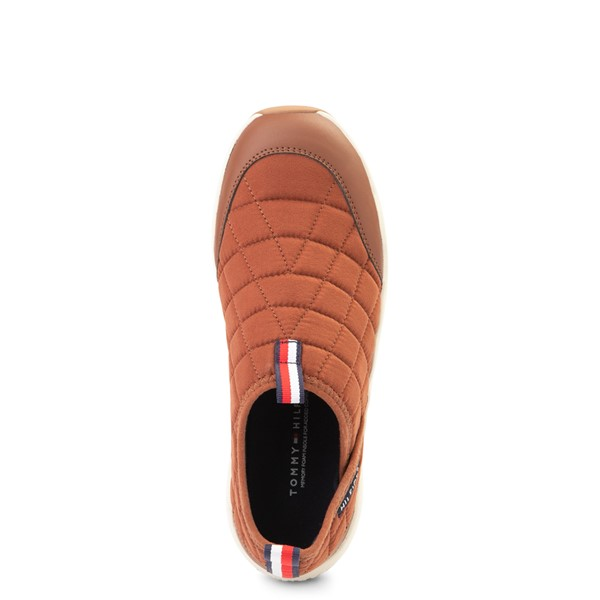 alternate view Mens Tommy Hilfiger Grizzly Slip On Casual Shoe - TanALT2