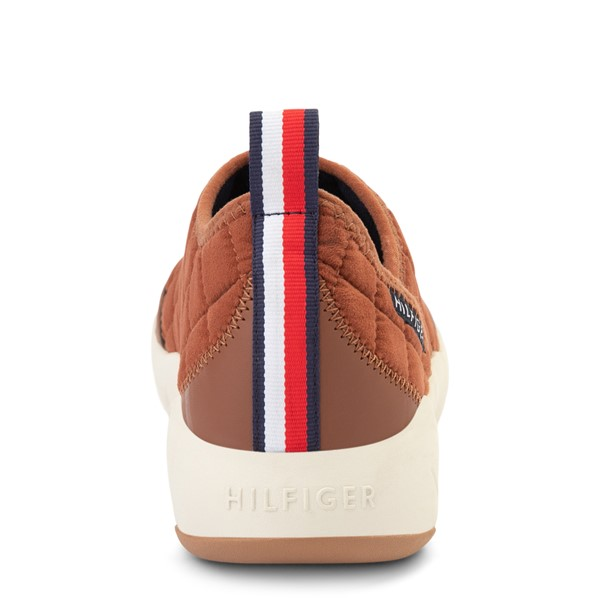 alternate view Mens Tommy Hilfiger Grizzly Slip On Casual Shoe - TanALT4