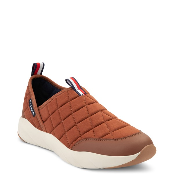alternate view Mens Tommy Hilfiger Grizzly Slip On Casual Shoe - TanALT5