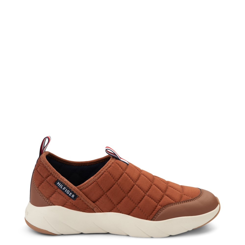 Mens Tommy Hilfiger Grizzly Slip On Casual Shoe - Tan