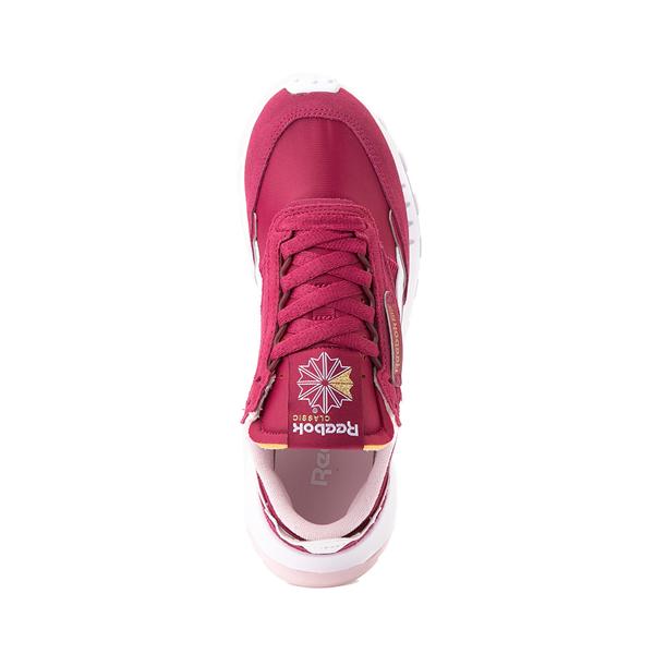alternate view Womens Reebok Classic Legacy Athletic Shoe - RaspberryALT2