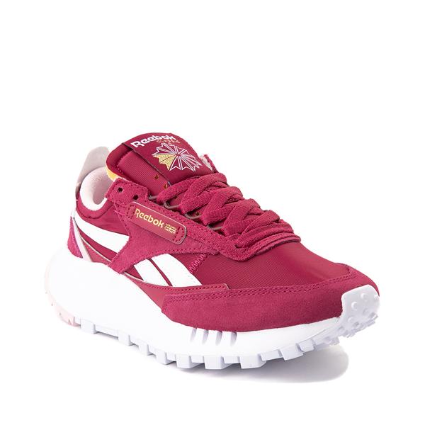 alternate view Womens Reebok Classic Legacy Athletic Shoe - RaspberryALT5