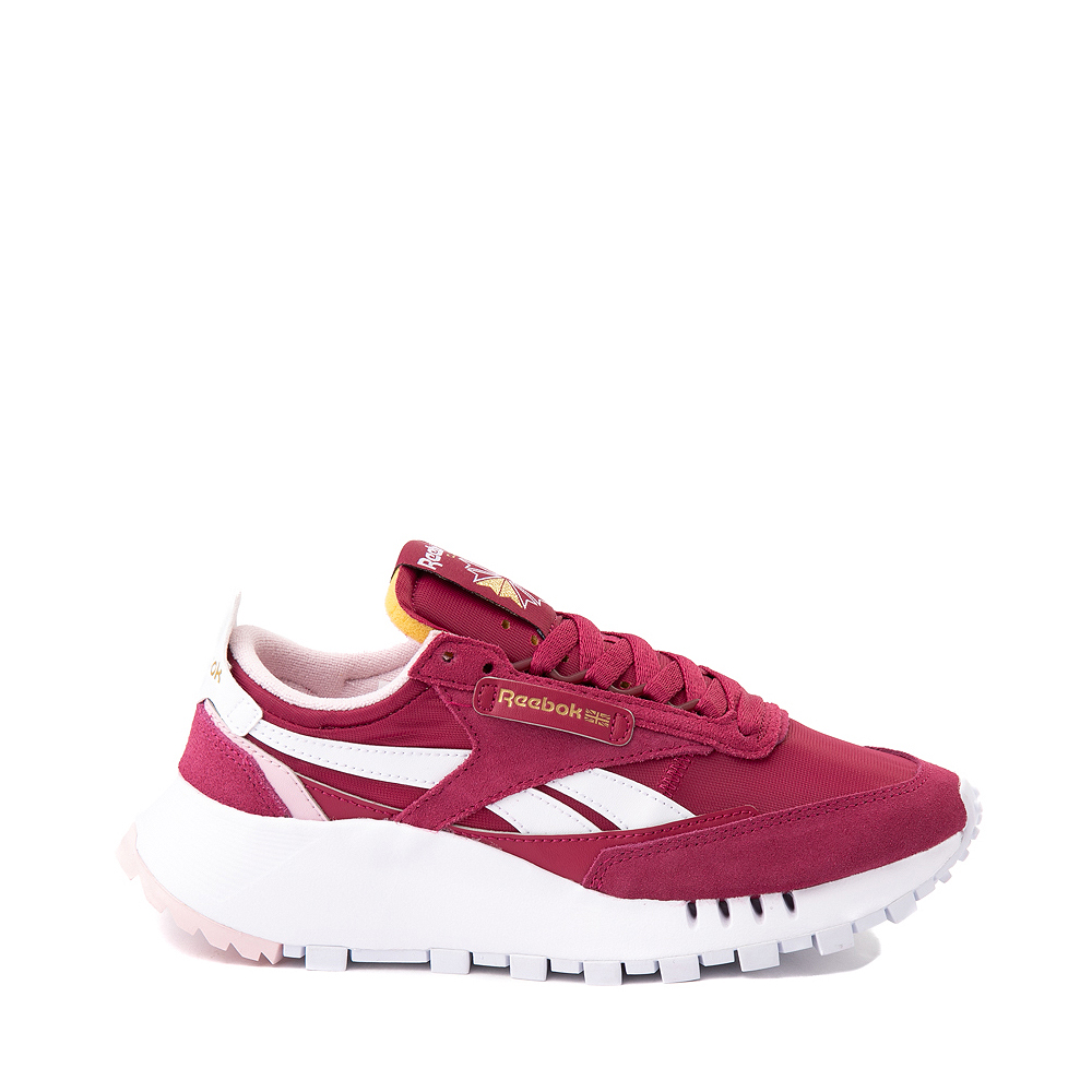 Womens Reebok Classic Legacy Athletic Shoe - Raspberry