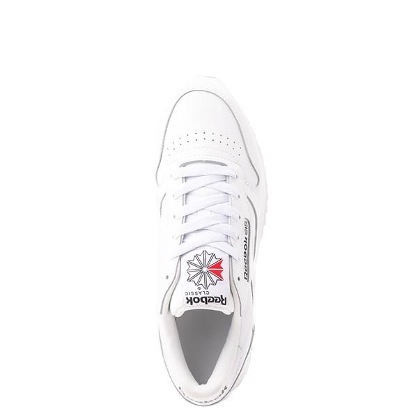 alternate view Womens Reebok Classic Leather Ripple Athletic Shoe - White MonochromeALT2