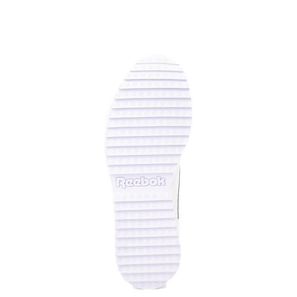 alternate view Womens Reebok Classic Leather Ripple Athletic Shoe - White MonochromeALT3