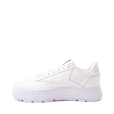Alternate view of Womens Reebok Club C Double Geo Athletic Shoe - White Monochrome