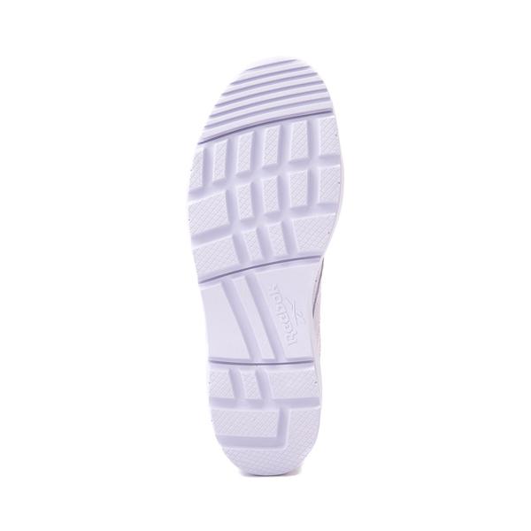alternate view Womens Reebok Club C Double Geo Athletic Shoe - Lilac MonochromeALT3