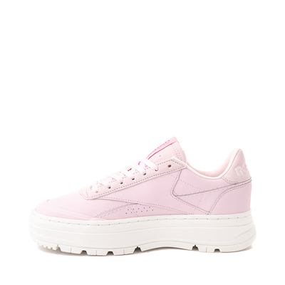 Alternate view of Womens Reebok Club C Double Geo Athletic Shoe - Frost Berry / Chalk