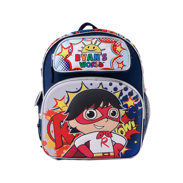 Main view of Ryan's World Hero Backpack - Blue / Multicolor