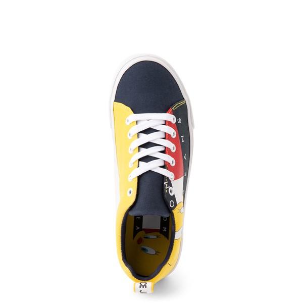 alternate view Womens Tommy Hilfiger Space Jam: A New Legacy x Tommy Jeans Tweety Bird™ Sneaker - NavyALT2