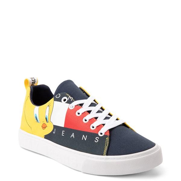 alternate view Womens Tommy Hilfiger Space Jam: A New Legacy x Tommy Jeans Tweety Bird™ Sneaker - NavyALT5