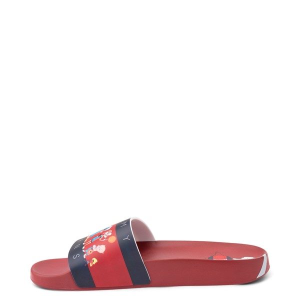 alternate view Womens Tommy Hilfiger Space Jam: A New Legacy x Tommy Jeans Tune Squad Slide Sandal - RedALT1B