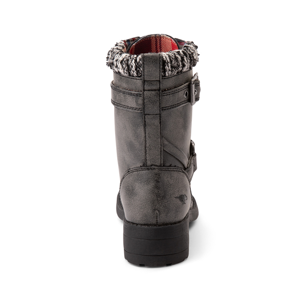 alternate view Womens Rocket Dog Thunder Biker Boot - Distressed BlackALT4