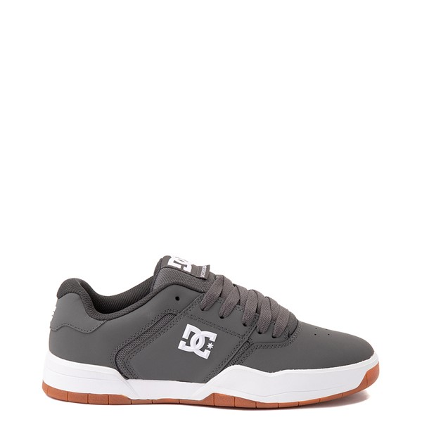 Main view of Mens DC Central Skate Shoe - Gray