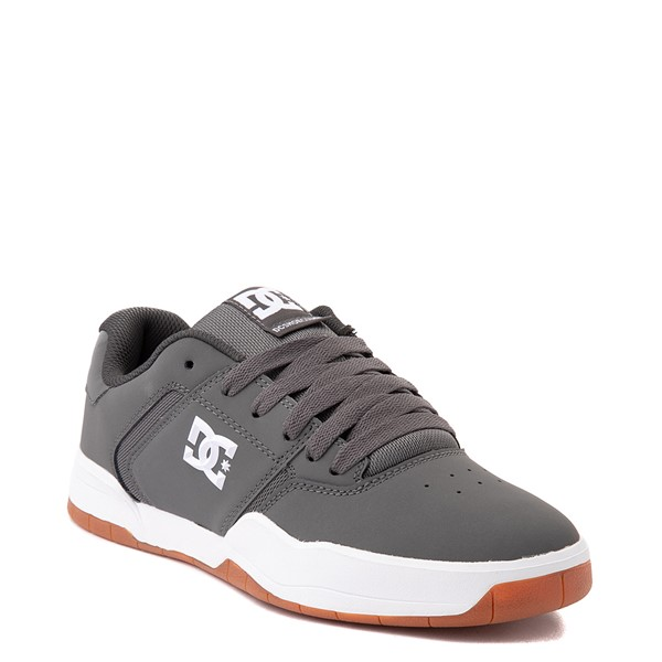 alternate view Mens DC Central Skate Shoe - GrayALT5