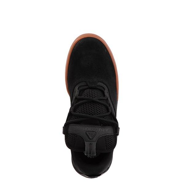 alternate view Mens DC Kalis Skate Shoe - Black / GumALT2