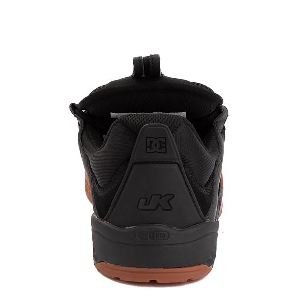 alternate view Mens DC Kalis Skate Shoe - Black / GumALT4