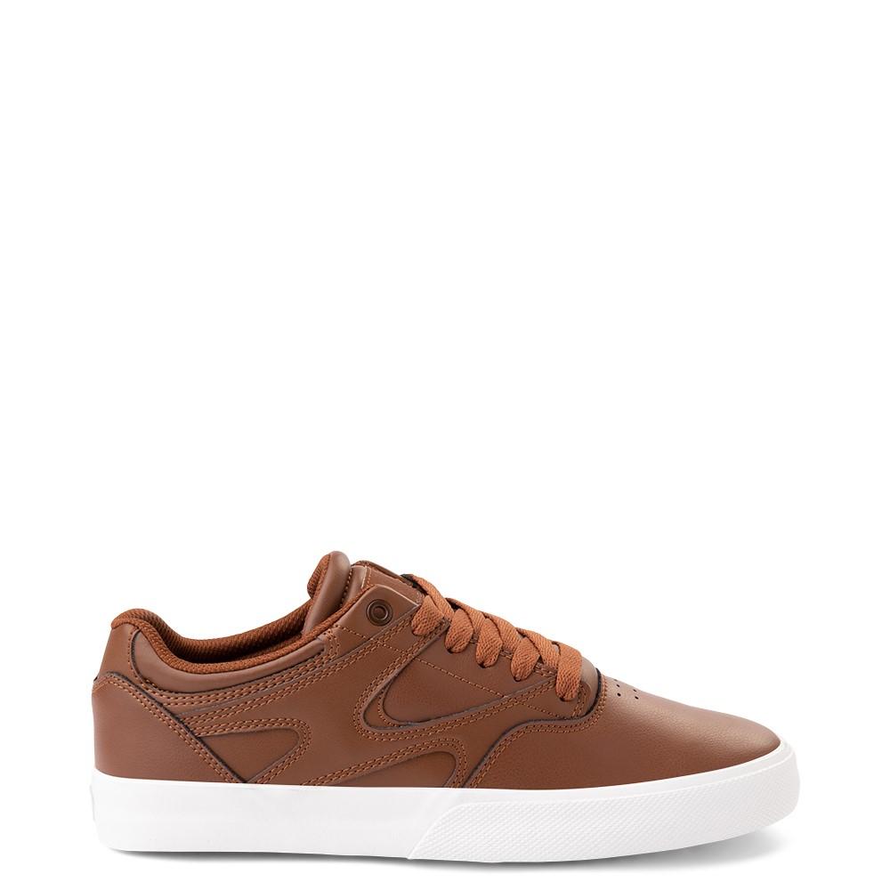 Mens DC Kalis Vulc Skate Shoe - Brown