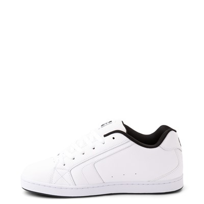 Alternate view of Mens DC Net Skate Shoe - White / Gray