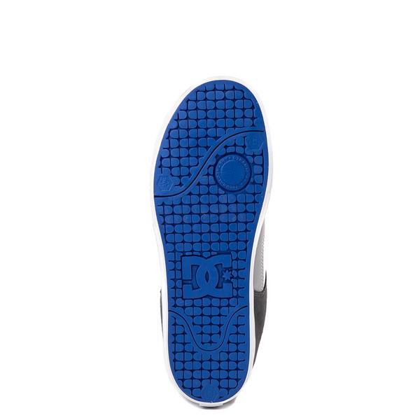 alternate view Mens DC Net Skate Shoe - Gray / WhiteALT3
