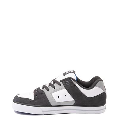 Alternate view of Mens DC Net Skate Shoe - Gray / White