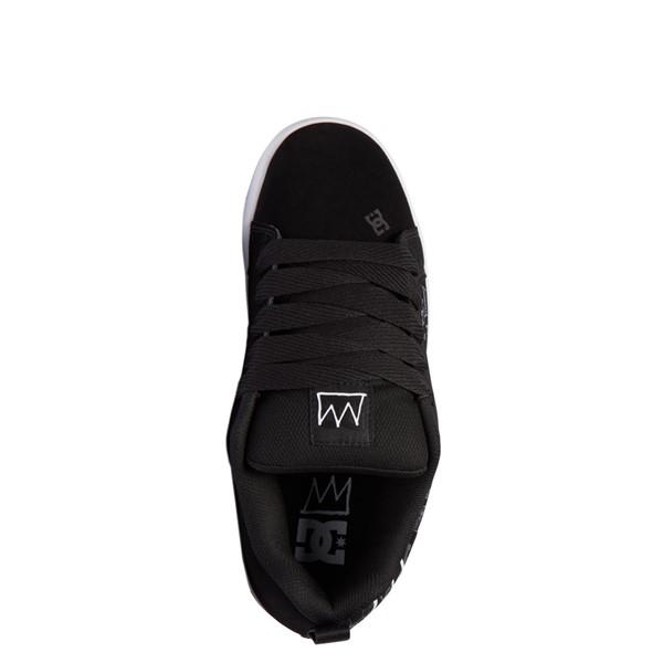 alternate view Mens DC x Basquiat Court Graffik Skate Shoe - BlackALT2