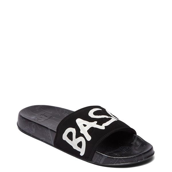 alternate view Mens DC x Basquiat Slider Slide Sandal - BlackALT5