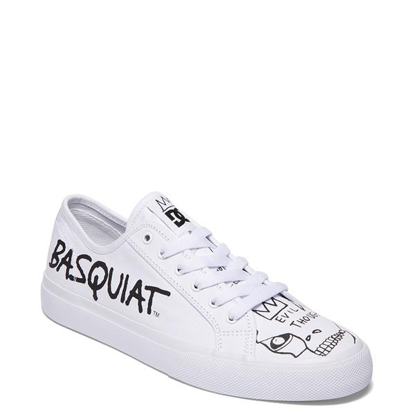 alternate view Mens DC x Basquiat Manual Skate Shoe - WhiteALT5