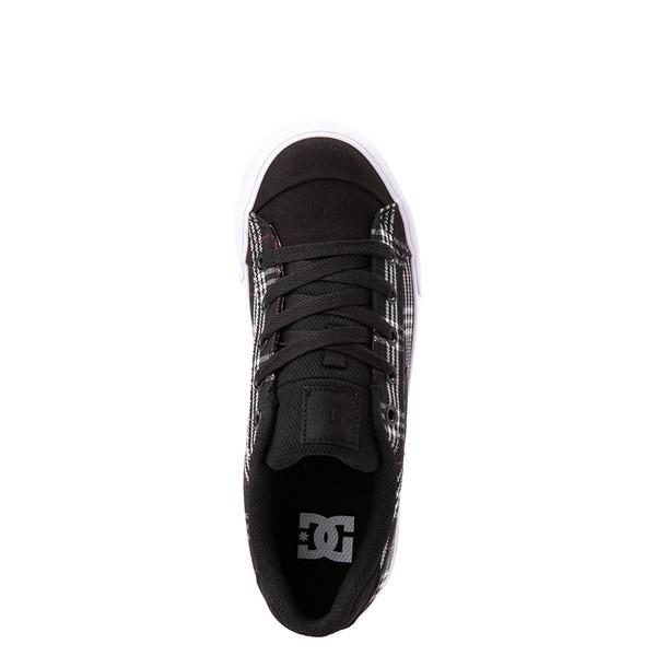 alternate view Womens DC Chelsea Skate Shoe - Black / PlaidALT2