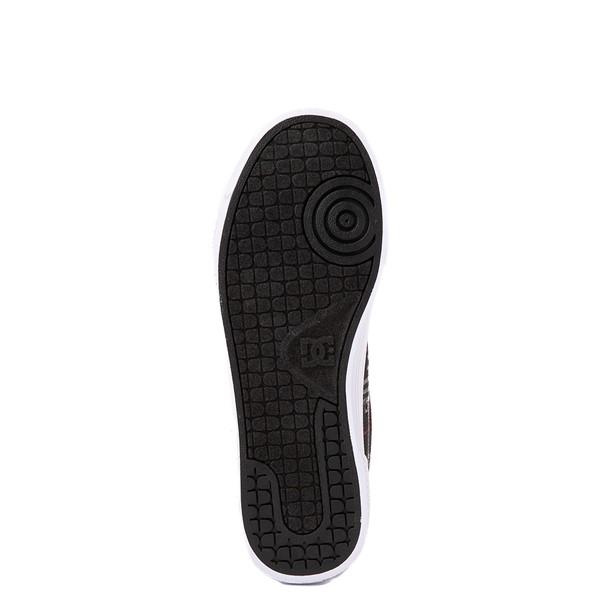 alternate view Womens DC Chelsea Skate Shoe - Black / PlaidALT3