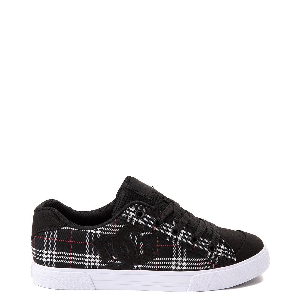 Womens DC Chelsea Skate Shoe - Black / Plaid
