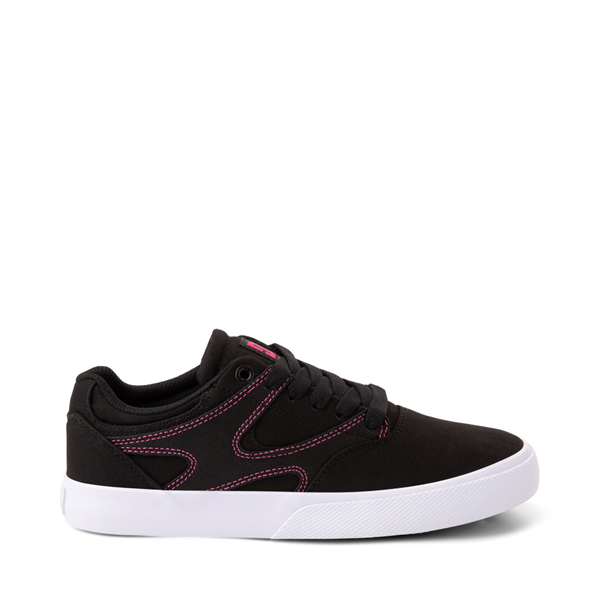 Womens DC Kalis Vulc Skate Shoe - Black