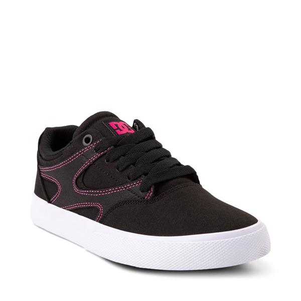 alternate view Womens DC Kalis Vulc Skate Shoe - BlackALT5