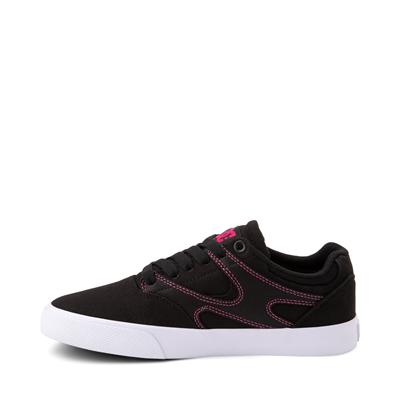 Alternate view of Womens DC Kalis Vulc Skate Shoe - Black