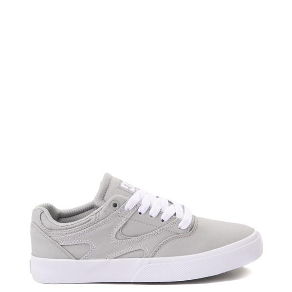 Womens DC Kalis Vulc Skate Shoe - Gray