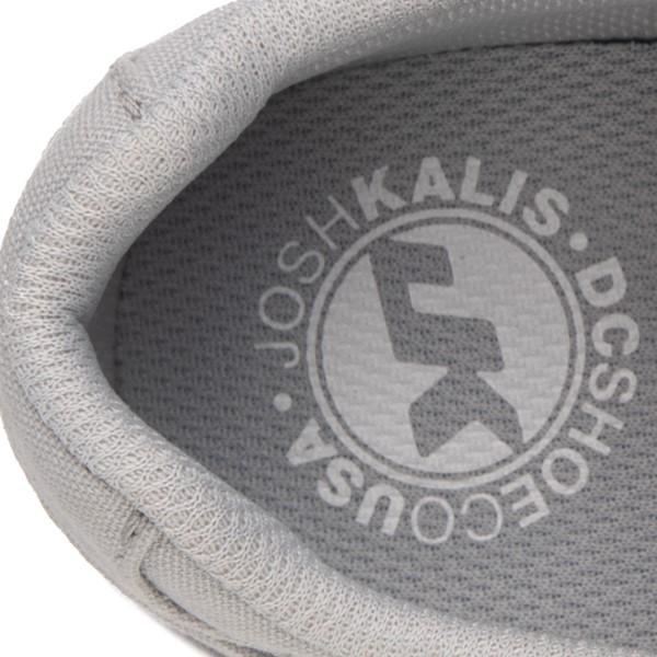 alternate view Womens DC Kalis Vulc Skate Shoe - GrayALT4B