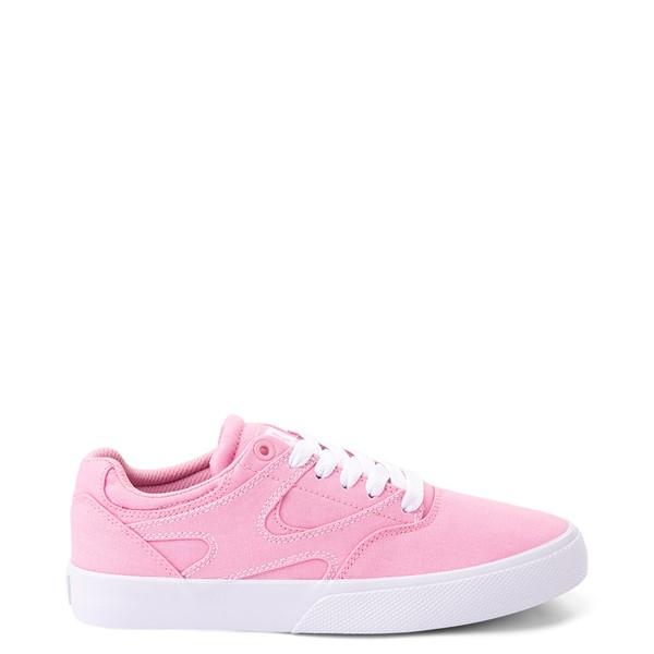 Main view of Womens DC Kalis Vulc Skate Shoe - Pink