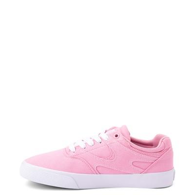 Alternate view of Womens DC Kalis Vulc Skate Shoe - Pink