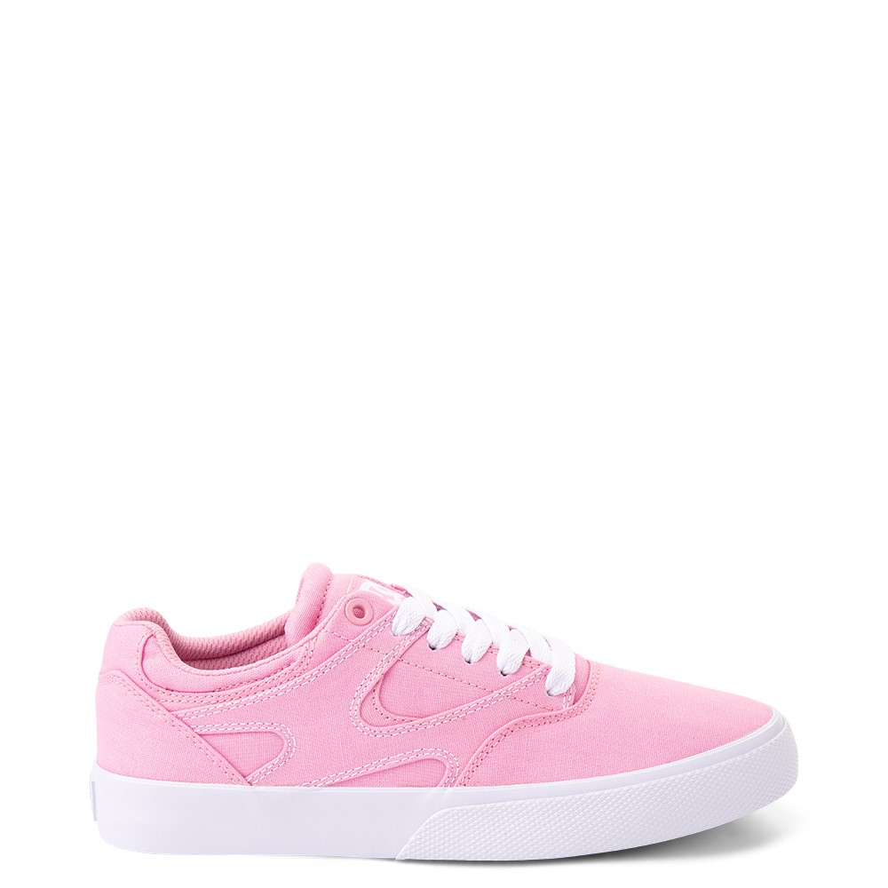 Womens DC Kalis Vulc Skate Shoe - Pink