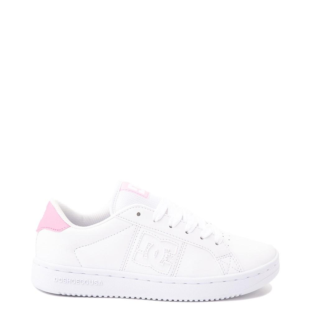 Womens DC Striker Skate Shoe - White / Pink