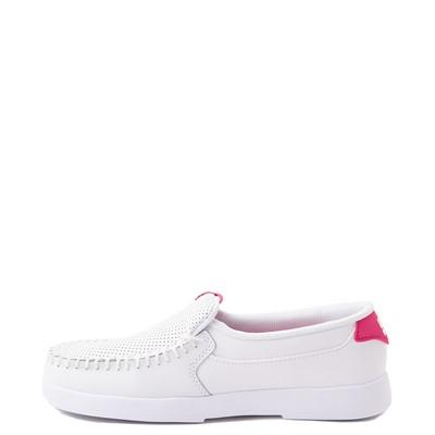 Alternate view of Womens DC Villain 2 Skate Shoe - White / Pink
