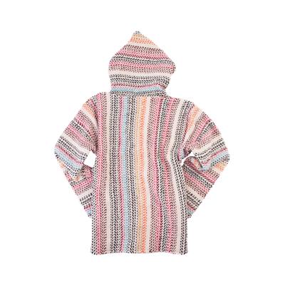 Alternate view of Baja Poncho - Little Kid / Big Kid - Pinstripe Multicolor
