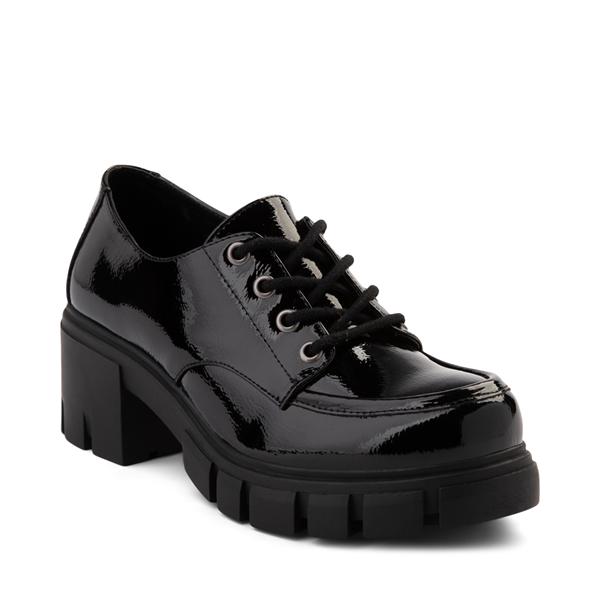 alternate view Womens Dirty Laundry Noyz Platform Casual Shoe - BlackALT5
