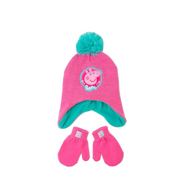 Peppa Pig Pom Beanie Set - Little Kid - Pink