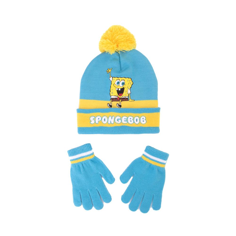 Spongebob Squarepants™ Beanie Set - Little Kid - Blue